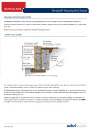 Versawall Technical Note
