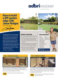 DIY Fact Sheet Garden Edge with Jason Hodges