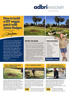 DIY Fact Sheet Veggie Patch with Jason Hodges