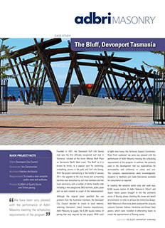 The Buff Devonport Tasmania Case Study